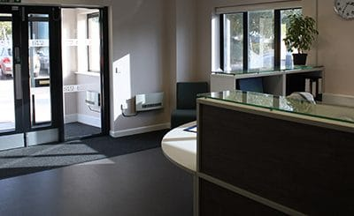 NHS Sleaford Reception Refurbishment
