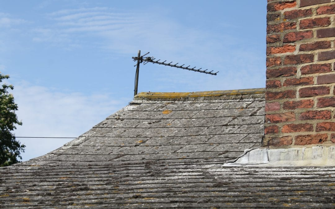 Client advised regarding asbestos tile roof